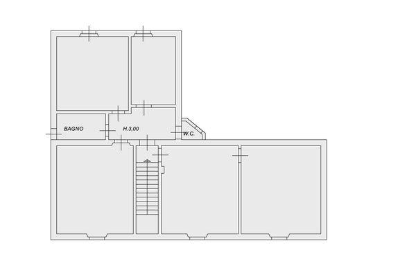 Immagine n2 - Planimetria - Piano primo - Asta 9905