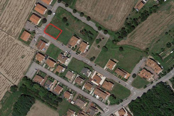 Immagine n1 - Planimetria - Vista aerea - Asta 9979