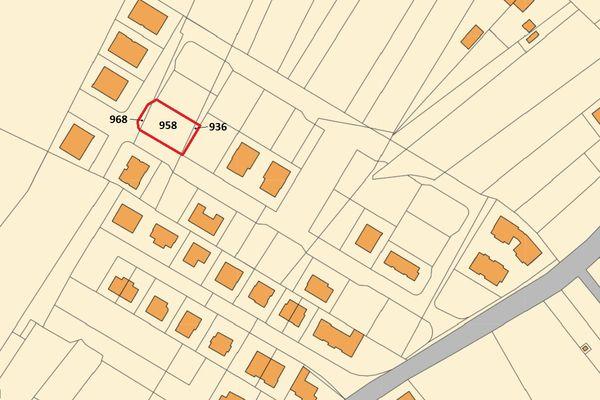 Immagine n1 - Planimetria - Estratto di mappa - Asta 9979