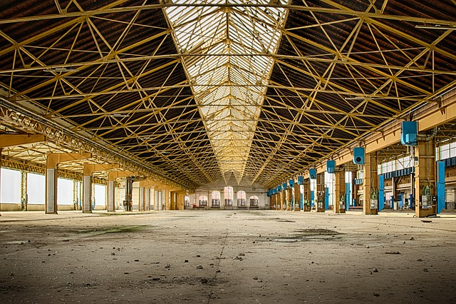 capannoni industriali in vendita